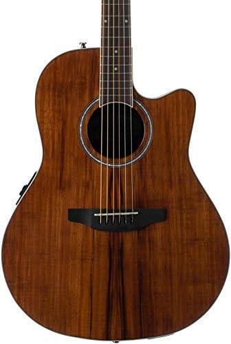 Ovation Applause Guitarra Electro-Acústica Mid Cutaway AB24IIP-KOA ...