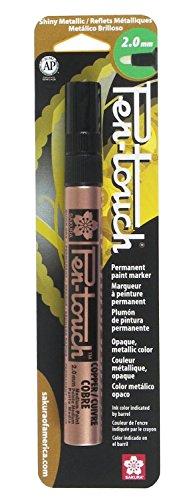 (Sakura 42583 1-Pack Blister Card Pentouch Paint Marker, Medium, Copper)