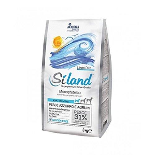 AURORA BIOFARMA Siland Adult Mini Blue Fish – Dry Food for Dogs 3 kg