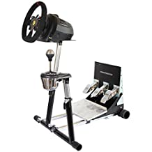 SuperTX Deluxe Steering Wheel Stand with RGS and GTS options Thrustmaster T-GT, T300RS(PS4), TX Leather, T150/TMX/TMX Pro, TX458(Xbox One) Original Wheel Stand Pro Stand V2. Wheel and Pedals Not included