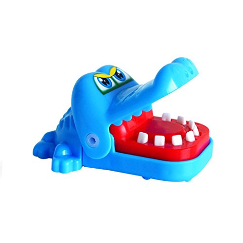 E-SCENERY Creative Cute Animal Dentist Game, Don't Take Buster's Bones Board Game For Family Office Children Kid Adult (Crocodile)