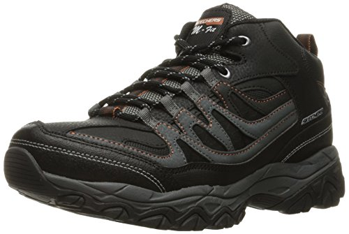 Carolina Oxfords Shoe (Skechers Sport Men's Afterburn M. Fit Geardo Oxford,black/CHARCOAL,10.5 4E US)