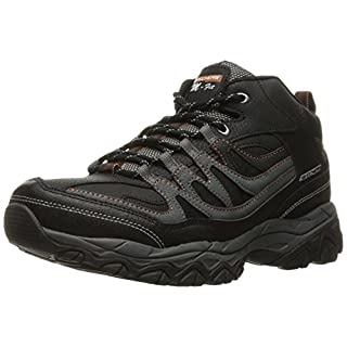 Skechers Afterburn M. Fit Mid Black/Charcoal 7.5