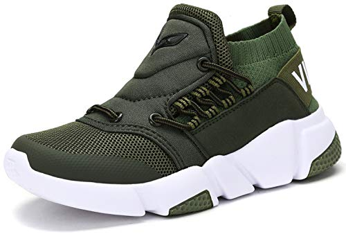 Price comparison product image Running Shoes Slip-On Sport Shoes Lightweight Comfortable Walking Shoe Flyknit Sneakers