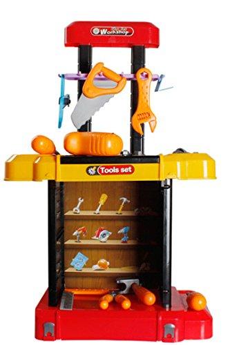 PowerTRC® Kids Toy Workshop Tool Bench Play Set