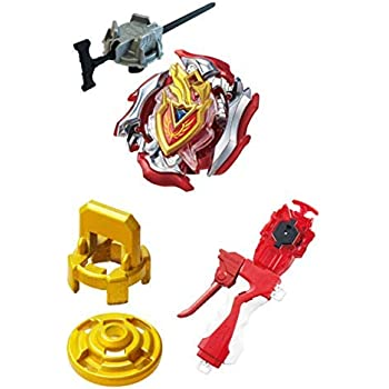 [B-105 Great Launcher Set] Takaratomy Beyblade Burst Beyblade Burst B - 105 Starter Zet Achilles. 11. Xt + Zet Achilles Reinforced Parts Included B-123 Long ...