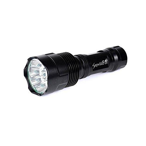 Mml Super Bright 35000lm 14x XM-L T6LED 5modes 18650Lampe de poche lampe torche