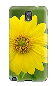 Galaxy Case - Tpu Case Protective For Galaxy Note 3- Yellow Flowers