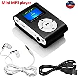 M Tech Digital Display Mini Mp3 Player with Earphone & Data Cable (Color as per The Stock Availability)