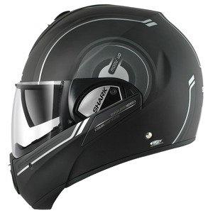 Shark Evoline Series3 Moov Up Mat Helmet-Grey-Black-XS