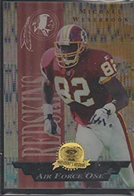 info pour 9c7d8 96214 Amazon.com: 1996 collector's Edge Michael Westbrook Redskins ...
