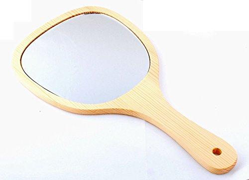 GP Handheld Mirror Oval Personalized Wooden Handheld Mirror Teen Girls...