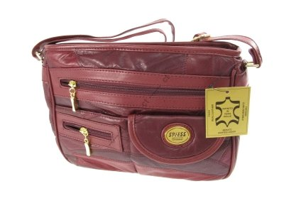 Handtasche Damen Schultertasche Echtleder SPIESS GERMANY #4194 Tasche