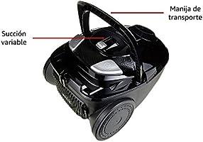 AmazonBasics – Potente aspirador con bolsa, para suelos duros y ...