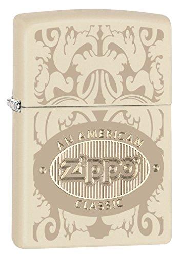 zippo-american-classic-cream-matte-pocket-lighter