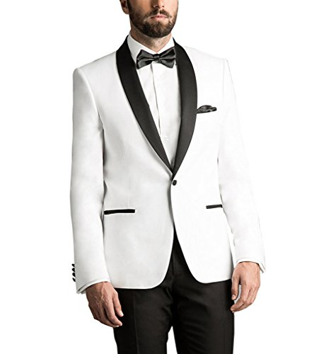 Suit Me - Costume - Homme blanc Weiß