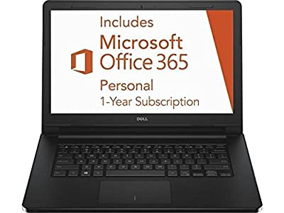 2016 Newest Dell Inspiron i3452 Premium Laptop PC, 14-inch HD Touchscreen Display, Intel Celeron Dual Core Processor, 2GB RAM, 32GB Flash Storage, Bluetooth, Windows 10, 1 Year Office 365 Personal