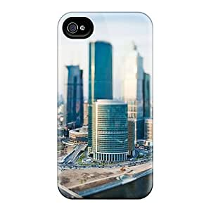 HTC One M8s Cases - Eco-friendly Packaging(cityscape Tilt Shift The Urban)