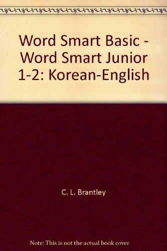 Word Smart Basic - Word Smart Junior 1-2: Korean-English