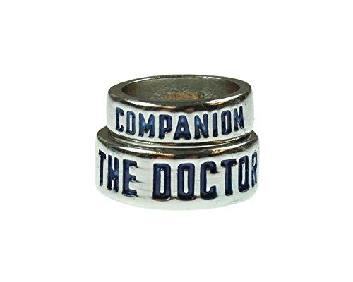[Doctor Who Rings Gift Set (7&10)] (Matt Smith Costume)