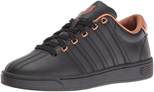 K-Swiss Women's Courtproii Met CMF Fashion Sneaker, Black/Black/Copper, 9.5 M US