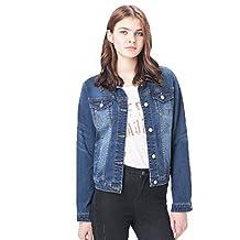 Women Spring/Autumn Plus Size Loose Beaty Body Leisure Denim Jacket