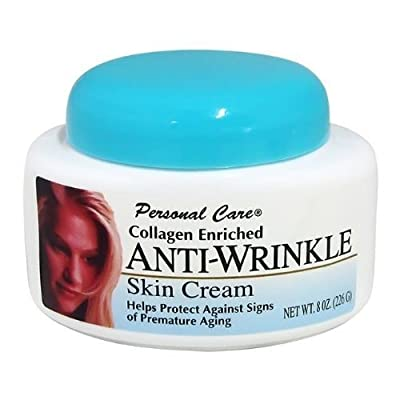 Personal Care Collagen Enriched Anti-Wrinkle Skin Cream 8 oz each
