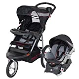 Baby Child Baby Trend Expedition LX Travel System With Quick Release All-Terrain Bicycle Tires - Millennium Infant