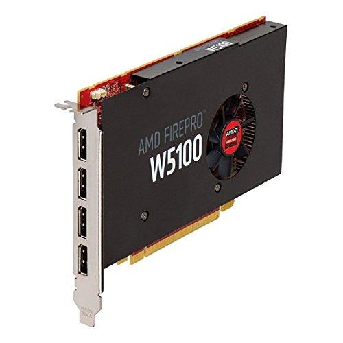 41UYuyDsCvL - ATI AMD FirePro W5100 4GB GDDR5 4DisplayPorts PCI-Express Workstation Video Card 100-505974