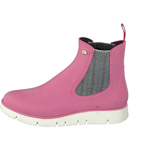 Gosch Shoes Botines Chelsea de Caucho Mujer Rose
