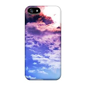 For Iphone 5/5s Fashion Design Bright Clouds Cases-geC12591UNHi