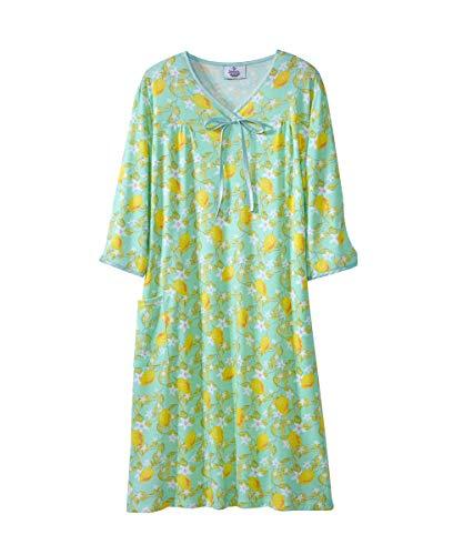 - Womens Adaptive Hospital Gown Open Back Regular & Plus Sizes - Lemons LGE