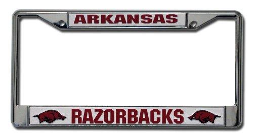 Arkansas Razorbacks Chrome Plate Frame ()
