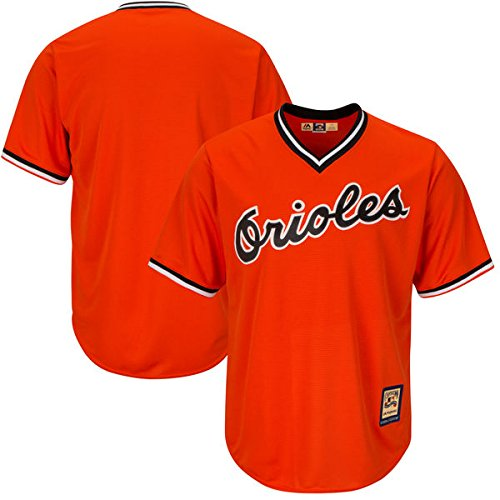 - Majestic Athletic Baltimore Orioles MLB Men's Cool Base Cooperstown Pullover Jersey (Small)