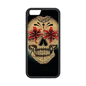 "HXYHTY Skull Art 5 Phone Case For iPhone 6 (4.7"") [Pattern-4]"