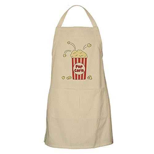 CafePress - Pop Corn - Kitchen Apron with Pockets, Grilling Apron, Baking Apron