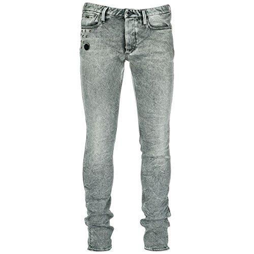 Gris Vaqueros Pantalones Nuevo Denim Jeans de Emporio Armani Hombre SwPq5Yx8B