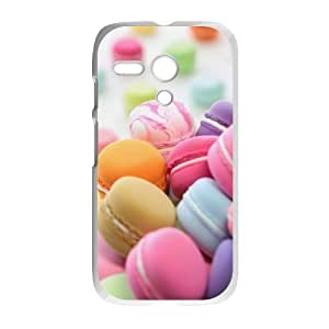 Motorola G Macaron Phone Back Case DIY Art Print Design Hard Shell Protection YT075265