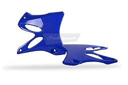 Polisport Radiator Shrouds Blue for Yamaha YZ 125 250 02-11
