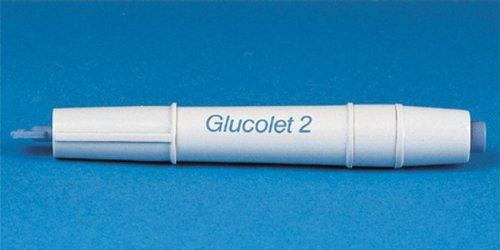 Bayer Glucolet 2 Automatic Fingerstix Lancets [ 1 Pack(s)]