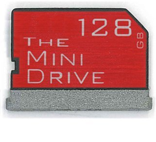 The MiniDrive | 128gb | For MacBook Retina 15'' 2014+ | Flash Memory Expansion Module by TheMiniDrive.com