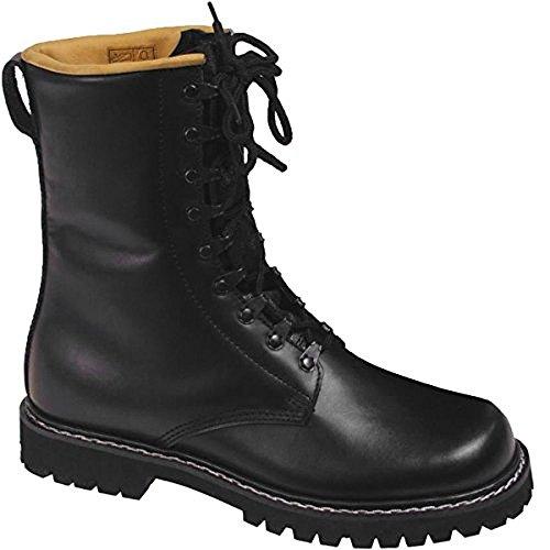 tallas negro Diverse ojales de 47 8 color BNIB 9 la militares la 37 Botas alemán a Talla de estilo WrHq8xrawS