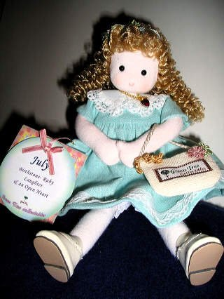 (Green Tree Musical doll of the month July)