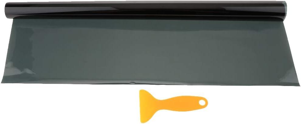KESOTO 15/% VLT R/ückleuchtenfolie Verdunklungsfolie Auto Scheinwerfer T/önungsfolie 50x100 cm