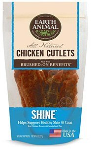 Earth Animal - Shine Chicken Cutlet Treats 8oz
