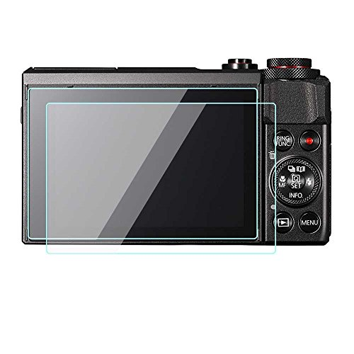 2 Pack Canon PowerShot G7 X Mark II G9 X Camera Screen Prote