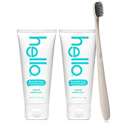 Hello Oral Care Fluoride Toothpaste