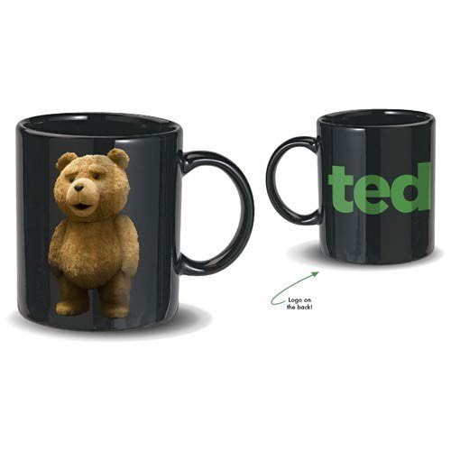 (Ted Talking Coffee Mug, R-Rated, 5 Phrases)
