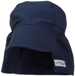 Flap Happy Flap Hat, Navy X Large