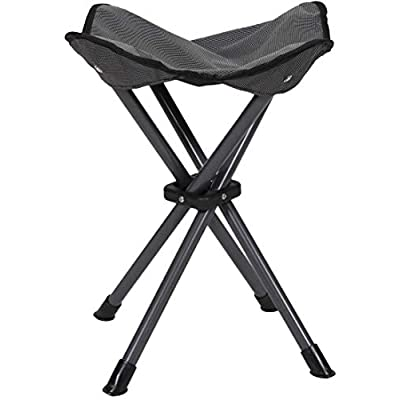 STANSPORT - Deluxe 4 Leg Camping Stool, Compact Lightweight Portable Stool for Outdoor Use : Camping Stools : Sports & Outdoors
